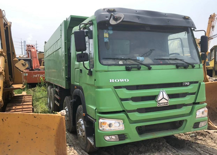 Used Dump Truck 375 Howo 8x4 Tipper China Brand Good Quality Africa Hot Sale